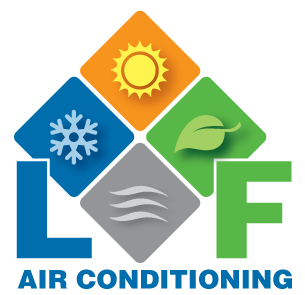 LF Air Conditioning Refrigeration Logo - Hereford Air Con